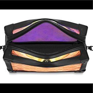 Amazing Louis Vuitton Prism soft trunk
